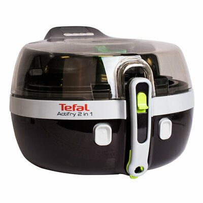Tefal YV 9601 ActiFry 2in1 Fritteuse patentierte 2in1-Technologie schwarz/silber