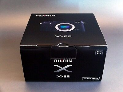 Fujifilm X-E2 Mirrorless Digital Camera Body, Black MINT CONDITION - NEVER USED