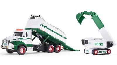 2017 Hess Toy Dump Truck And Loader!