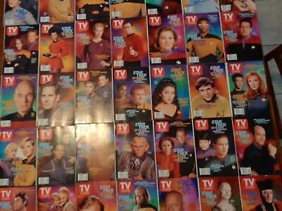 Complete Set Of Tv Guide Issues - 4/20/2002 - Star Trek 35Th Anniversary Covers