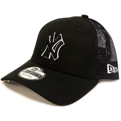 New New Era 940 Trucker Snapback NY Yankees - Black / White