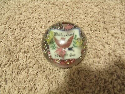 Fraternal Order of Eagle F.O.E.,BELLAIRE, Ohio PAPERWEIGHT F.B. RUTHERBARD 371