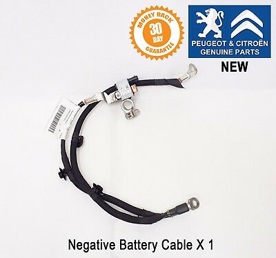 Peugeot 208 2008 Negative Battery Cable Stop & Start 9814740480 Genuine New