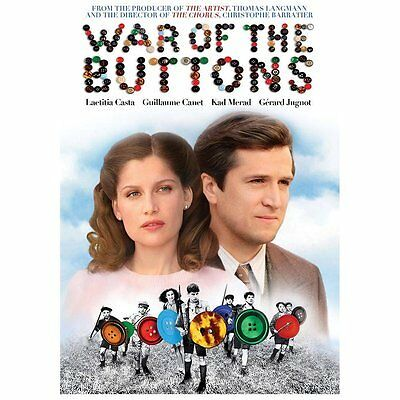 The War of the Buttons (DVD, 2013) *Library Copy*