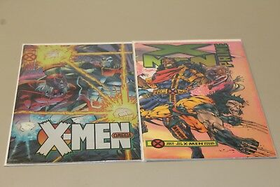 X-Men Omega + Prime - Lot of 2 Comic Books - Age of Apocalypse - VF/NM