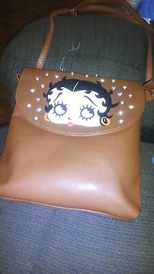 ladies betty boop purse