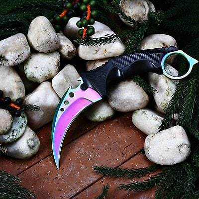 ( Upgrade ) CIMA Z6 Claw Knife-COLORFUL