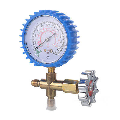 Air Conditioner Refrigeration Single Manifold Pressure Gauge Tool