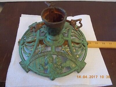 Antique cast iron Christmas tree stand 1800's German