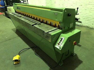 Edwards Truecut DD Sheet Metal Guillotine