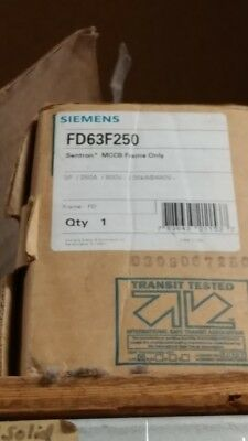 Siemens Fd63F250 New Circuit Breaker