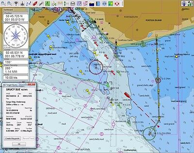 Nautical World Chart Navigation GPS-AIS Software Portable Package