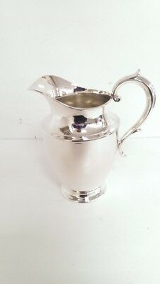 "Reed & Barton Sterling Silver Water Pitcher 8 1/2"" X 8"" 530 Grams (LP3035246)"