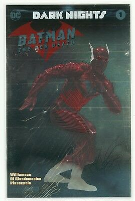 Dark Nights Batman the Red Death #1 NYCC Foil Variant Cover - E. Berding Charity