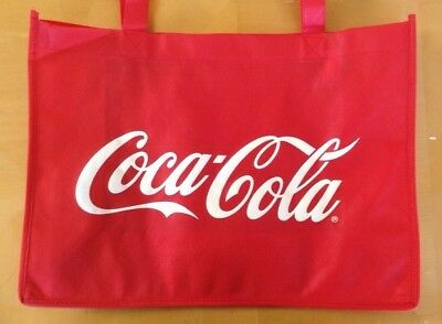 NEW COCA-COLA TOTE BAG SHOPPING BAG -made of recycled material