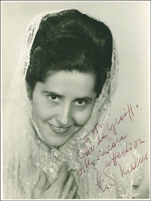 Lili Kraus - Inscribed Photograph Signed