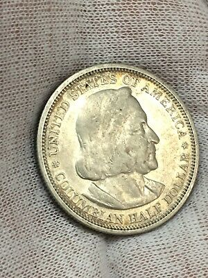 1893 50C Columbian Silver Commerative Coin