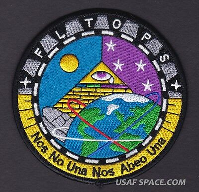 Nro - Flt-Ops - Adf-E Flight Operations - Usaf Classified Space Patch