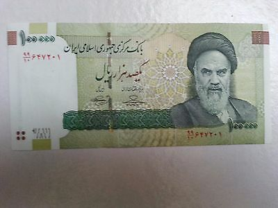1 x Iran 100000 (100,000) Rials Banknotes-Un-Circulated paper money