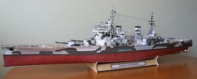 HMS Prince of Wales  1/200 scale model kit (including lasercut frame) 2835 parts