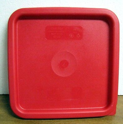 """Cambro Replacement Part - SFC6 - CamSquare 6 and 8 qt Lid Cover 9"""" x 9"""" Square"""