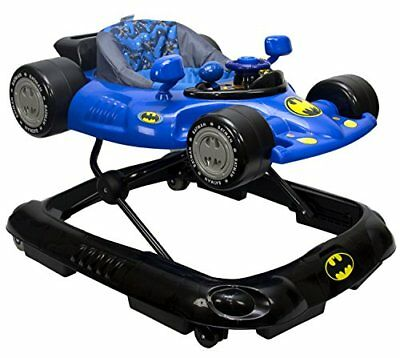 WB KidsEmbrace Baby Batman Activity Walker, Car with Music and Lights New