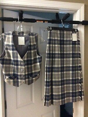 Female Kilt  with matching vest