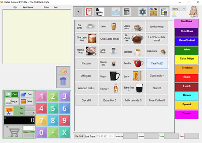 Easy Cheap Simplified POS software system for Windows PC