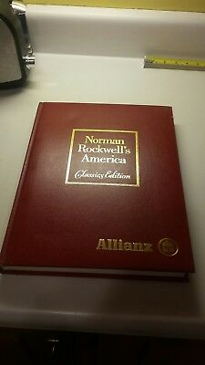 Norman Rockwell's America - Classics Edition - Book - 1985 - Excellent Condition