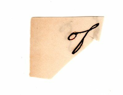 ABRAHAM LINCOLN Autograph Clip Document - U.S. President & Civil War Leader (#2)