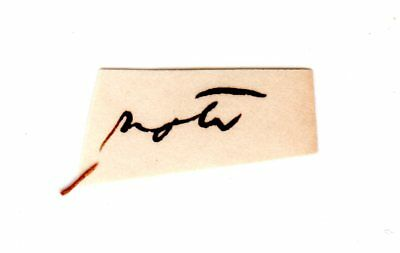 ABRAHAM LINCOLN Autograph Clip Document - 16th U.S. President & Civil War Leader