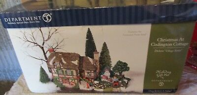Department 56 Dickens Village Series Christmas at Codington Cottage NEW