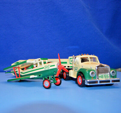 2002 Hess Holiday Truck and Airplane -  Unused in Box - Very Nice Condition! #1A