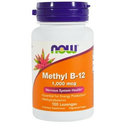 NOW FOODS Methyl B-12 1000 mcg 100 lozenges - VITAMINE