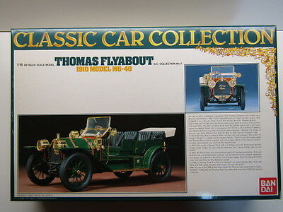 Bandai 1:16 Scale Vintage 1910 Thomas Flyabout M6-40 Model Kit - New & Very Rare