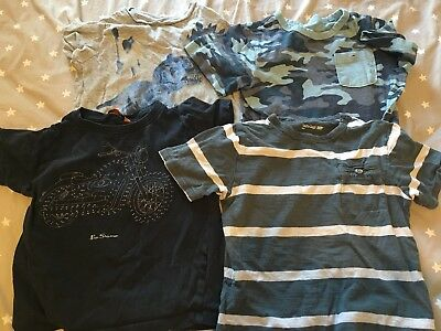 Boys bulk lot t-shirts size 5 Ben Sherman Gap