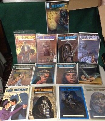 The Mummy #1-12 VF/NM (Full Series) Millennium 1990, Anne Rice's + Archives No.1