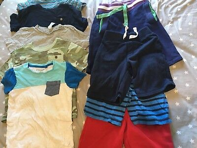 Bulk boys lot size 5 shorts t-shirts Gap Mini Boden