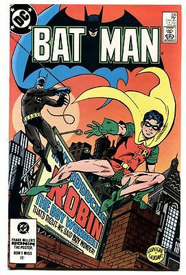 Batman #368 COMIC Key Issue JASON TODD becomes ROBIN 1984--DC.