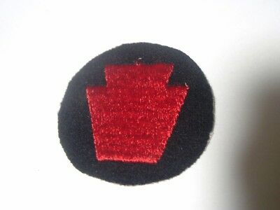 "Early WWII US Army 28th Infantry Division 2"" Wool Cap Patch WW2"