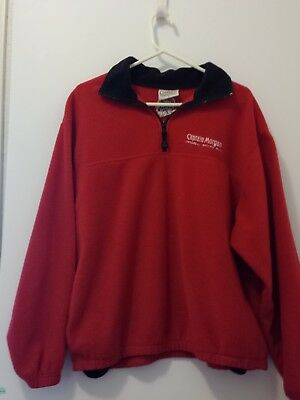 Nearly Vintage Captain Morgan Red Fleece with Black Trim