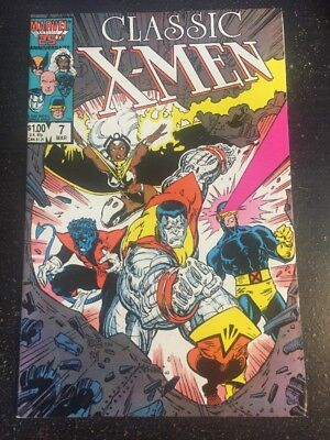 Classic X-men#7 Incredible Condition 9.0 Art Adams Cover!!