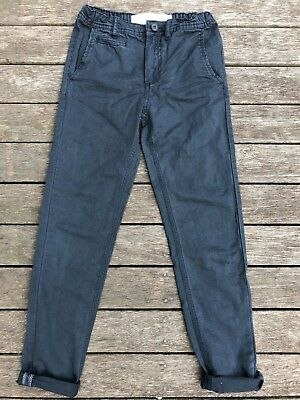 Bnwot Boys Cotton On Navy Chinos – Sz 10