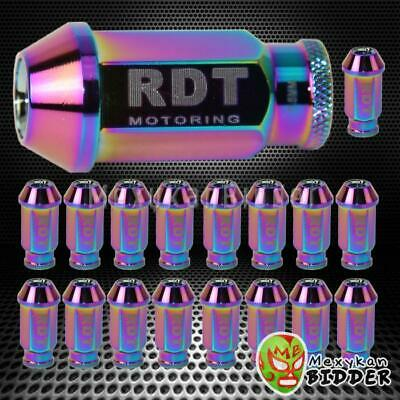 M12X1.5Mm 20X Open End Neo Chrome 50Mm Alumin Extended Tuner  Lug Nut For Toyota