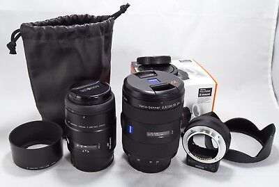 Sony Carl Zeiss Vario-Sonnar T 24-70mm f/2.8 ZA SSM-Excellent Cond.+Plus Bonus
