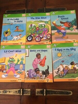 LeapFrog Tag Books x 6 Bulk Lot