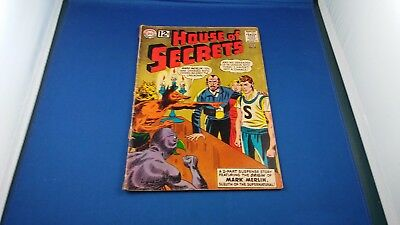 Dc House Of Secrets #58 Feb. 1963