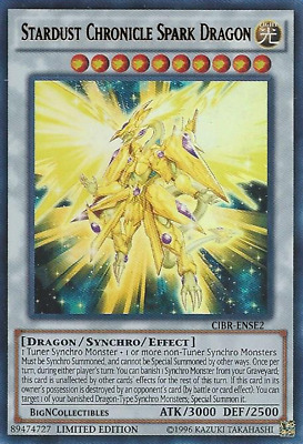 YUGIOH CIRCUIT BREAK CIBR-ENSE SE Stardust Chronicle Spark Dragon SUPER PRESELL