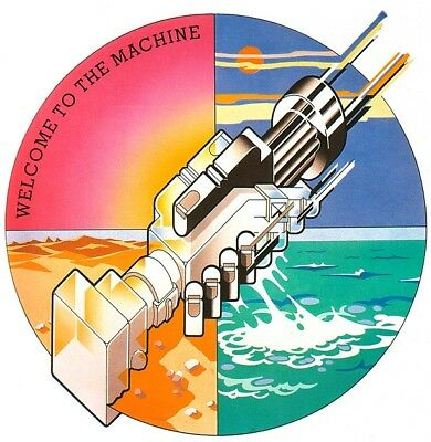Pink Floyd-Welcome To The Machine EP Vinyl LP 60's 70's Sticker or Magnet