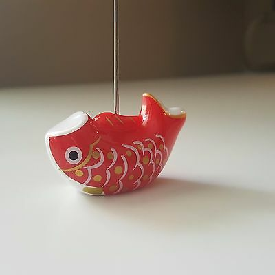 Clip Holder Memo Stand Carp Kawaii Japanese Style